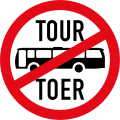 Tour buses prohibited R235-rsa