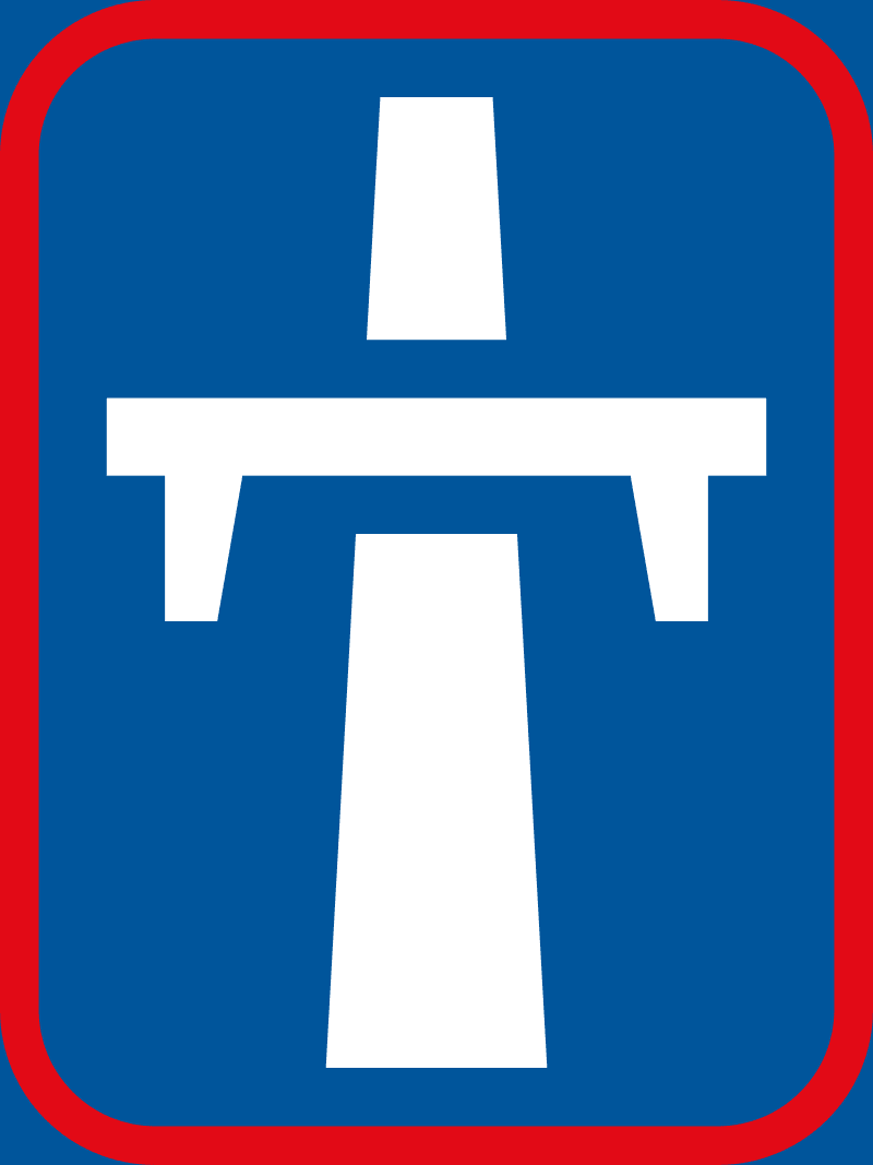 Single-carriageway freeway begins R402