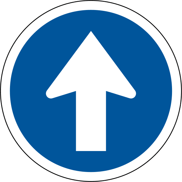 Proceed Straight R107