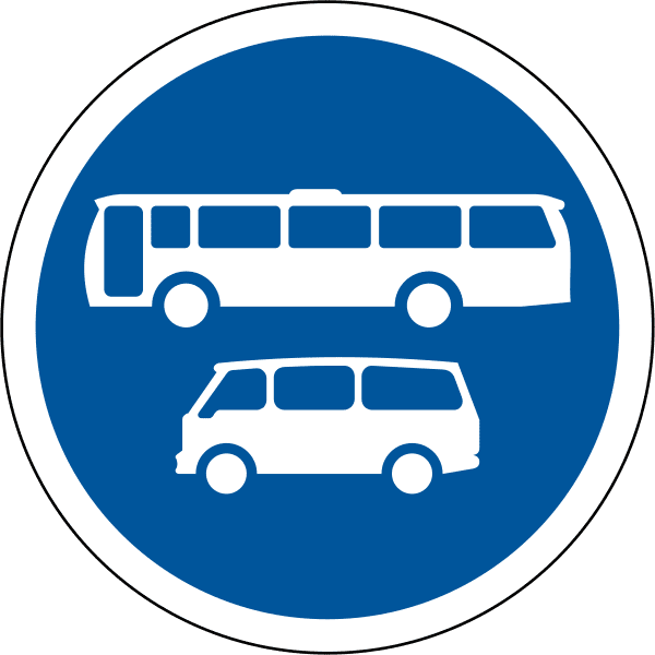 Buses and mini-buses only R134