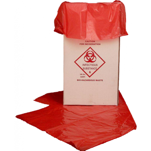 Bio Hazard Red Bag - Liner - 750x950mm fas16