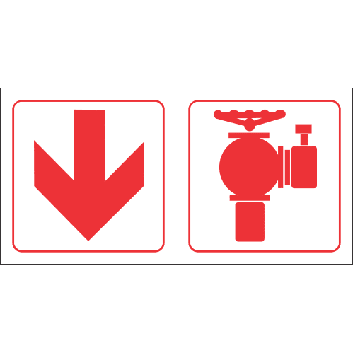 Fire Hydrant Ahead Safety Sign FB87