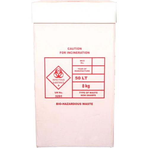 Bio Hazard Waste Box Set - 50L fas08