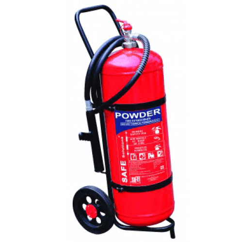 DCP - 50kg Fire Extinguisher - Trolley Unit FE009