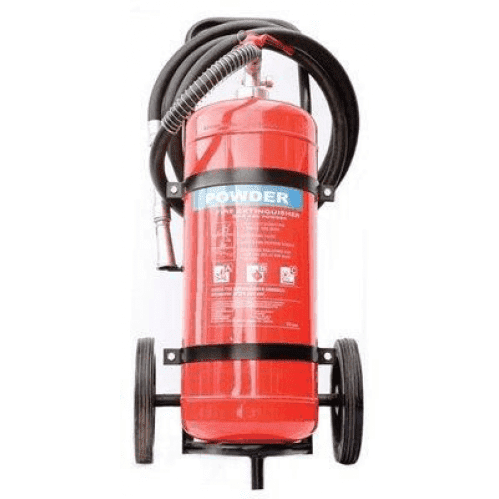 DCP - 25kg Fire Extinguisher - Trolley Unit FE008