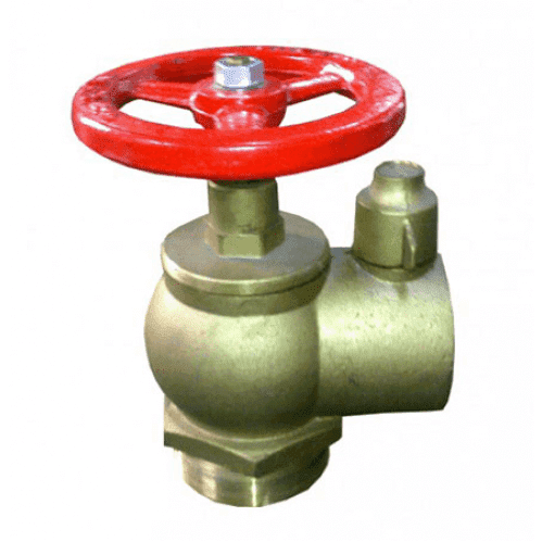 Fire Hydrant Valve - Right Angle - Brass FHV23